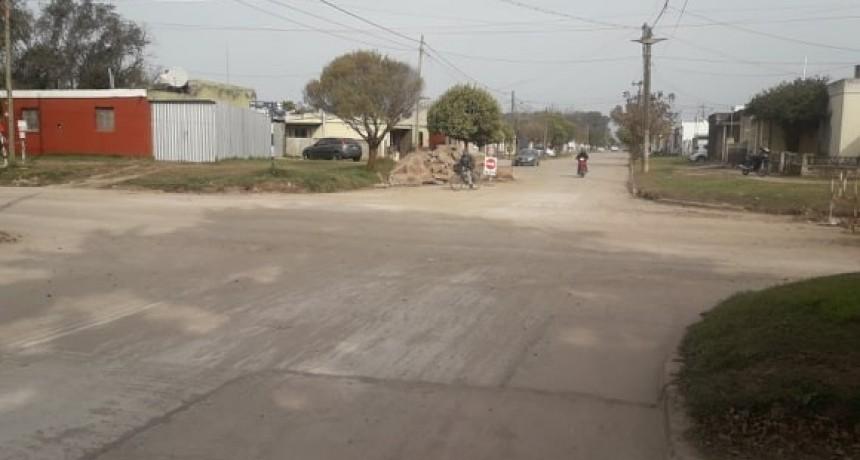 TRÁNSITO HABILITADO EN CALLE SAN JUAN Y CHUBUT