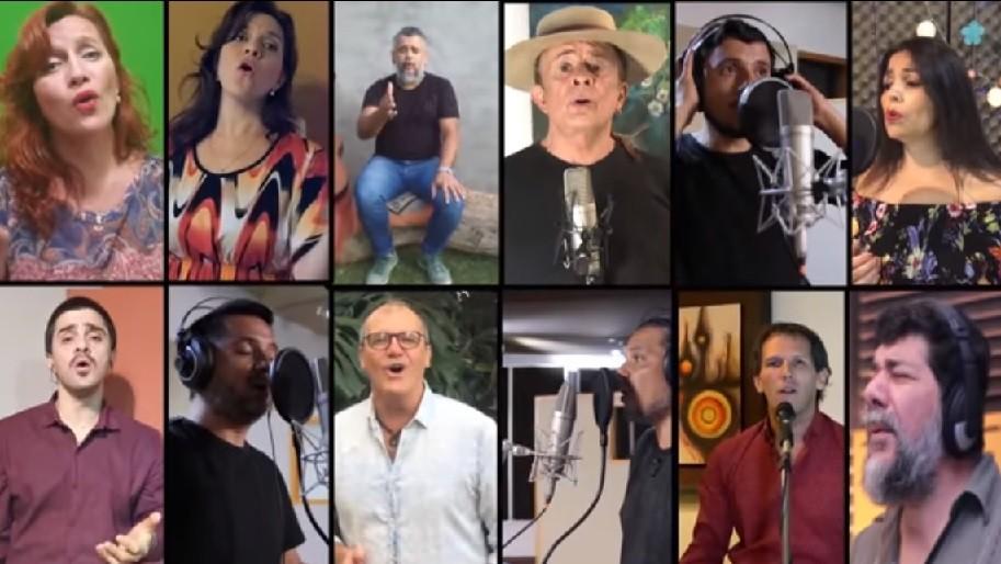 20 ARTISTAS ARGENTINOS LEVANTAN SU VOZ POR LOS RÍOS