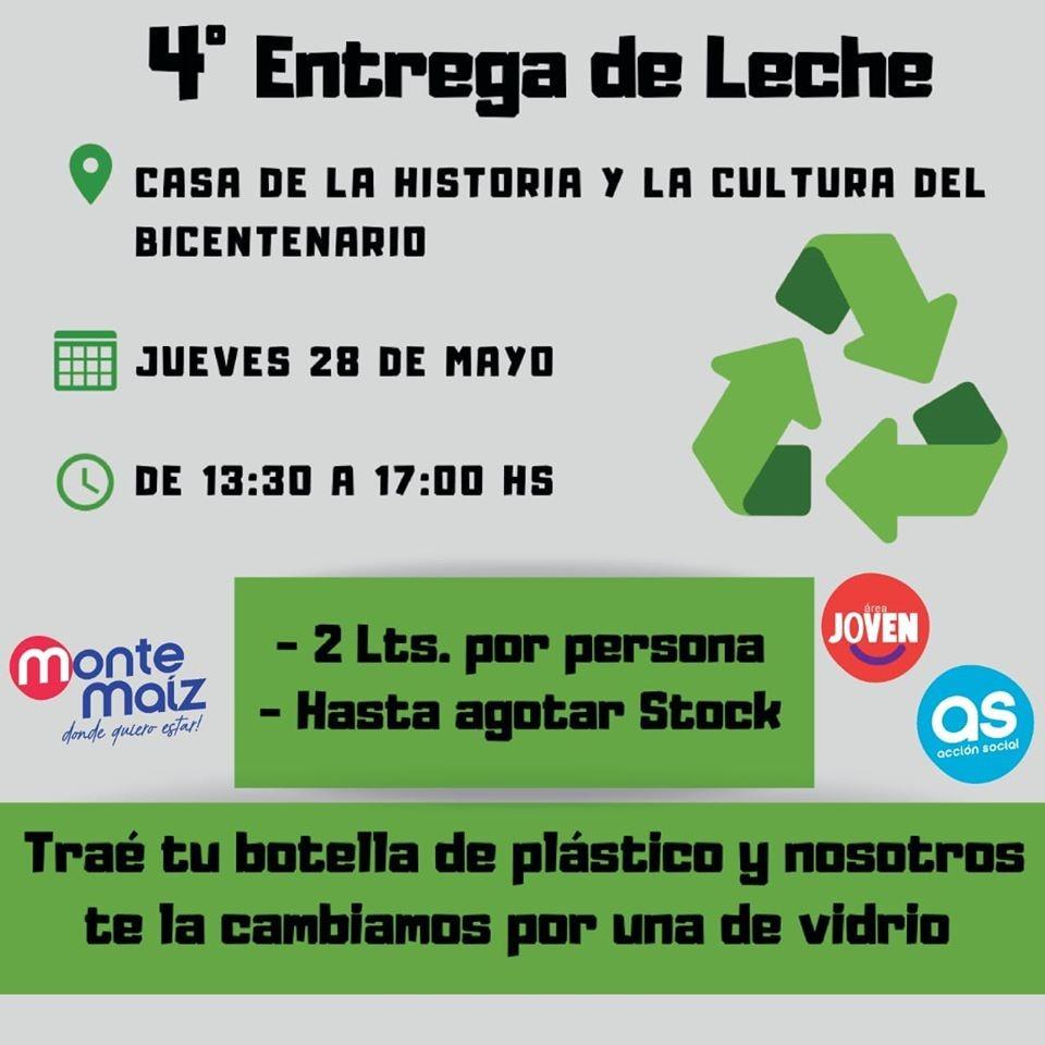 4° JORNADA DE ENTREGA DE LECHE
