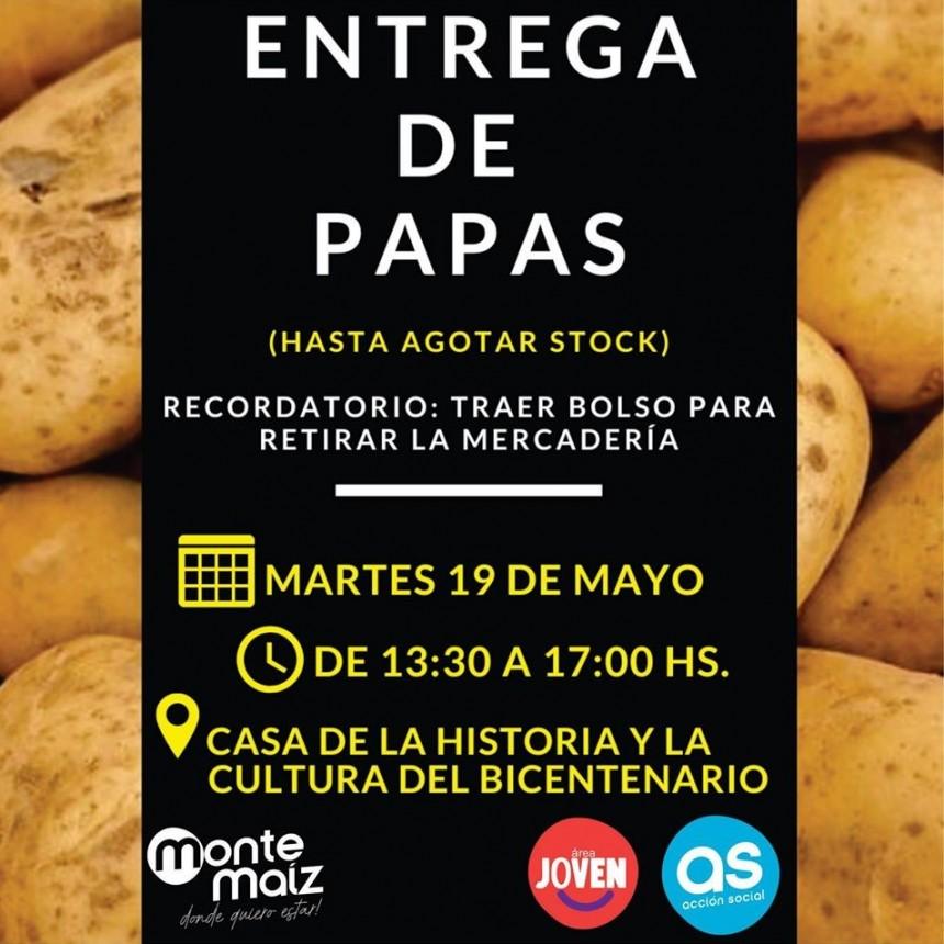 PAPAS GRATIS PARA FAMILIAS DE ESCASOS RECURSOS