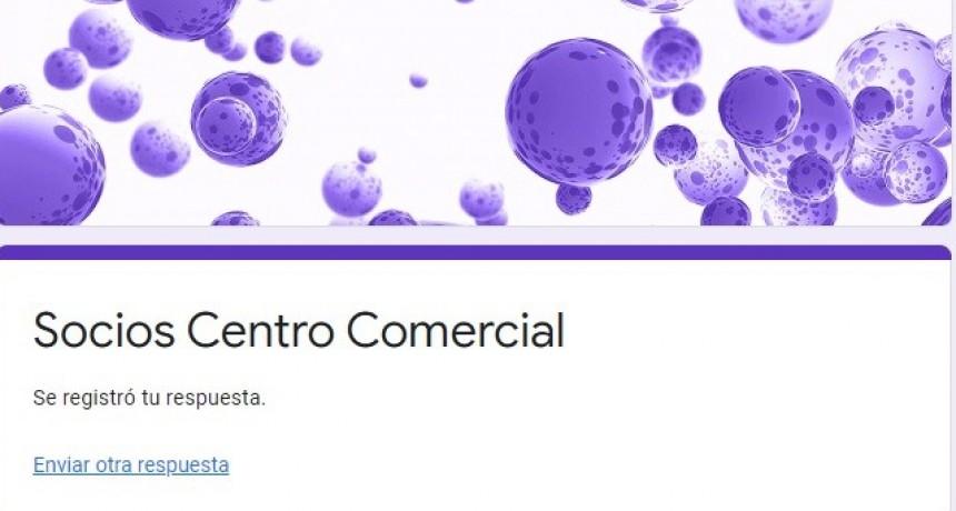 FORMULARIO ON LINE PARA ASOCIARSE AL CENTRO COMERCIAL