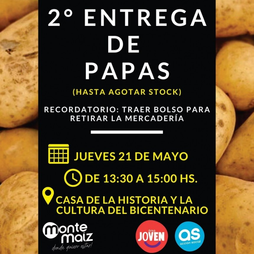 2° JORNADA DE ENTREGA DE PAPAS