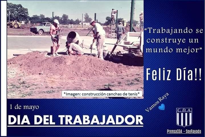 SALUDO POR EL DÍA DEL TRABAJADOR