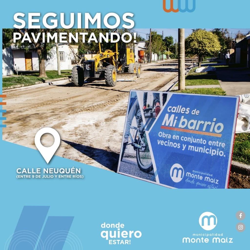 BACHEO Y PAVIMENTACIÓN DE CALLES