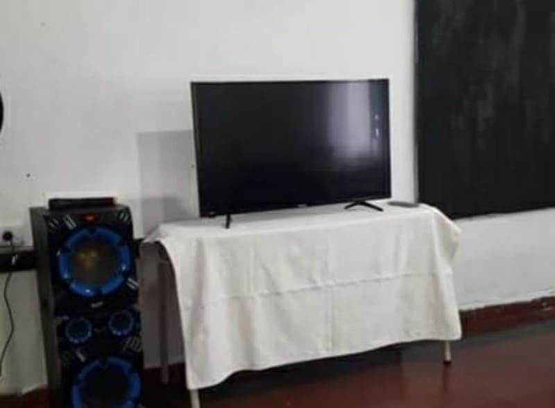 TV ROBADO EN ISLA VERDE APARECIÓ EN MONTE MAÍZ