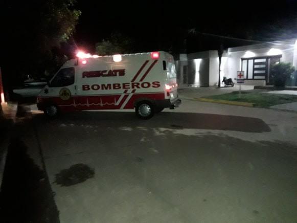 TRASLADO DE UN PACIENTE DE COVID AL HOSPITAL