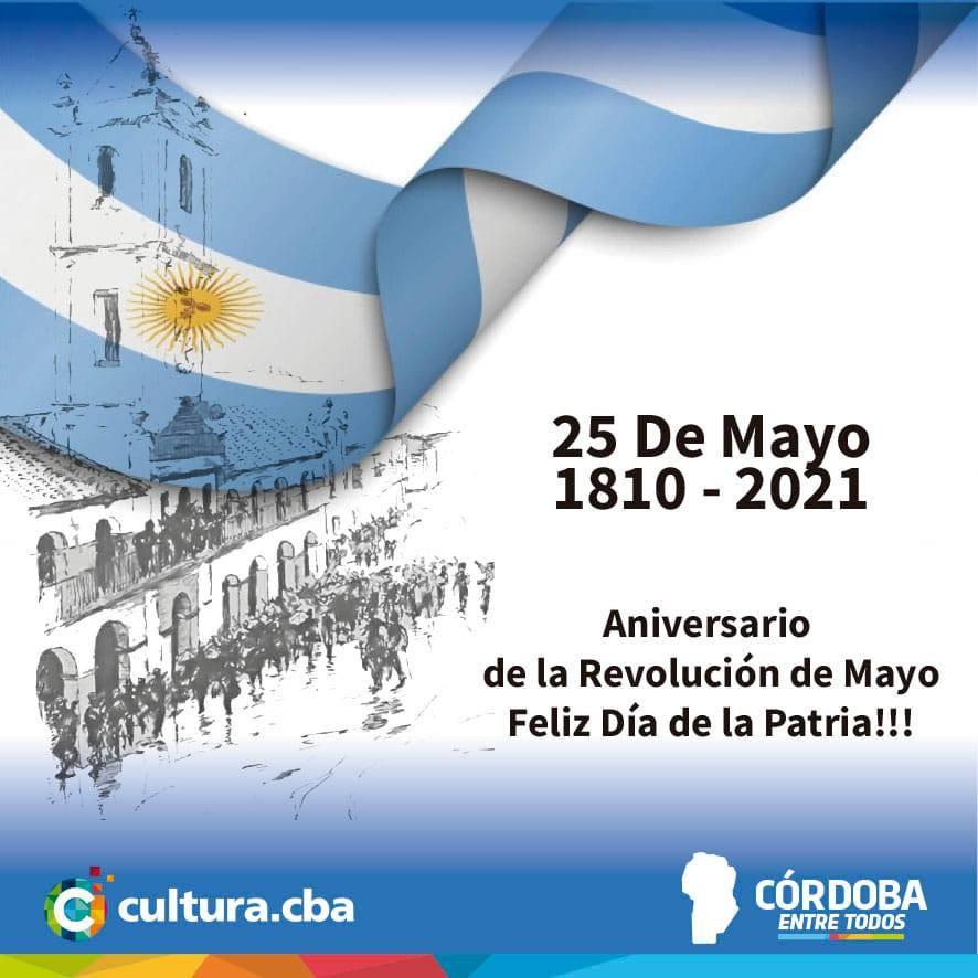 ACTO VIRTUAL DEL 25 DE MAYO