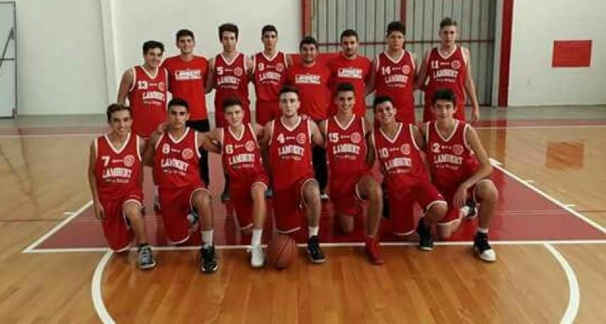LAMBERT PARTICIPARÁ DEL PROVINCIAL DE BÁSQUET EN U17