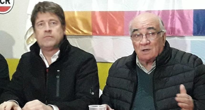 CARLOS BRINER REUNIÓ A LA UCR EN MONTE MAÍZ