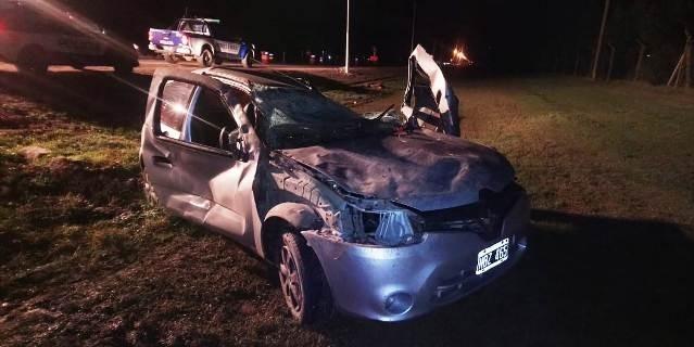 SE ACCIDENTÓ POLICÍA EN ACCESO OESTE DE BELL VILLE