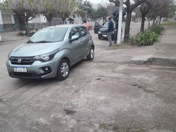 CHOQUE EN CALLE CATAMARCA