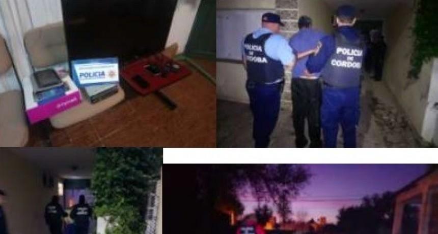 BELL VILLE: 2 DETENIDOS POR EL ROBO EN AGENCIA DE QUINIELA