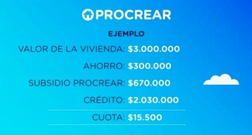 PROCREAR 2019: YA HAY INTERESADOS EN MONTE MAÍZ