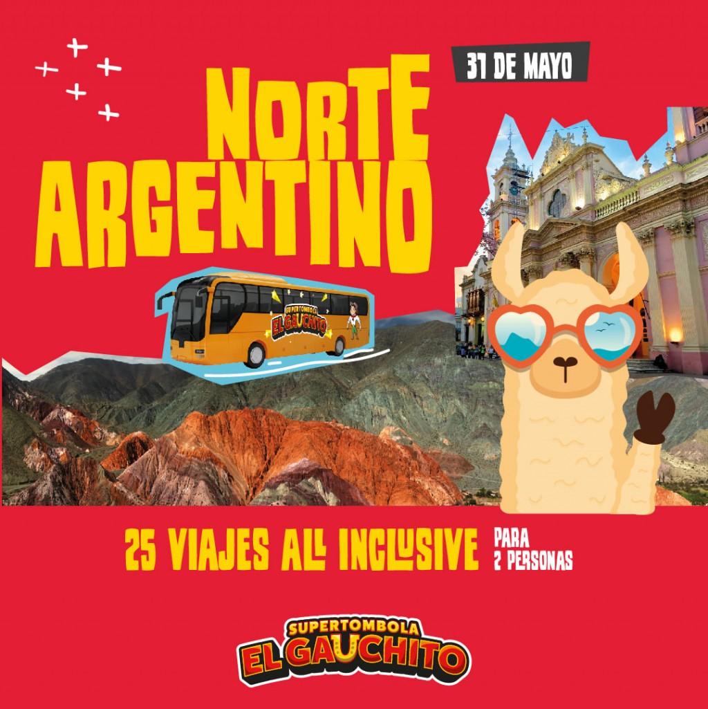 25 VIAJES AL NORTE ARGENTINO