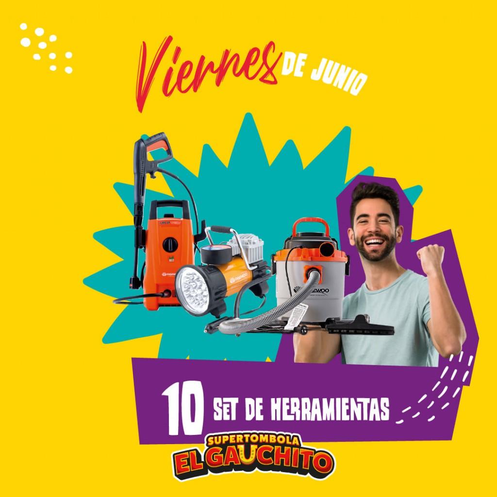 EL GAUCHITO: SORTEOS DE LOS VIERNES DE JUNIO