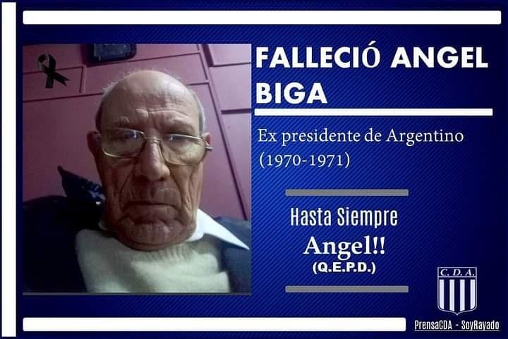 FALLECIÓ EX PRESIDENTE DE ARGENTINO