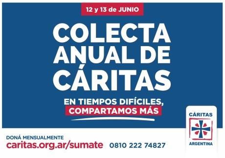 COLECTA ANUAL DE CÁRITAS 2021