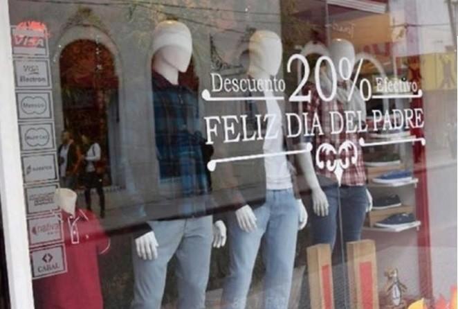 VENTAS DEL DÍA DEL PADRE CRECIERON 35,8% INTERANUAL
