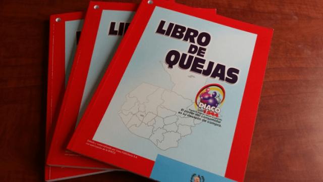 LOS COMERCIOS DEBERÁN TENER UN LIBRO DE QUEJAS
