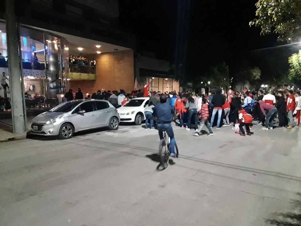 LOS FESTEJOS DEL ROJO CAMPEÓN