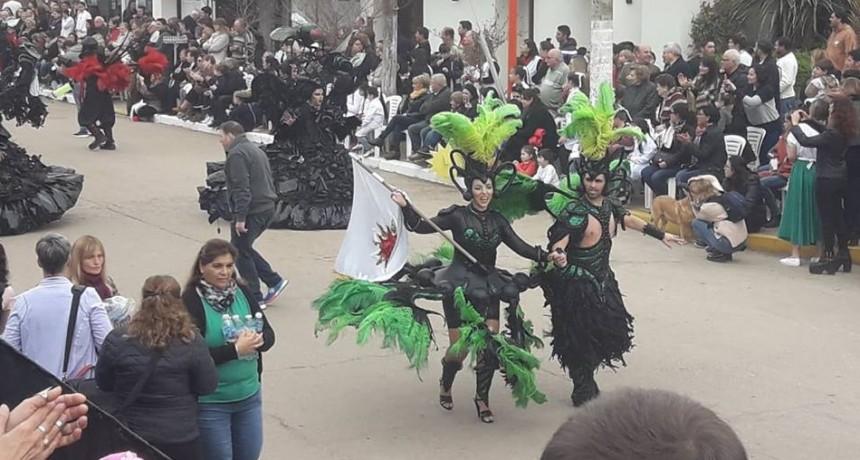 EL DIRECTOR DE CULTURA HABLO LUEGO DEL DESFILE