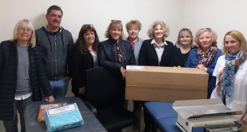 HOSPITAL: DONACIONES PARA EQUIPAR CONSULTORIOS NUEVOS