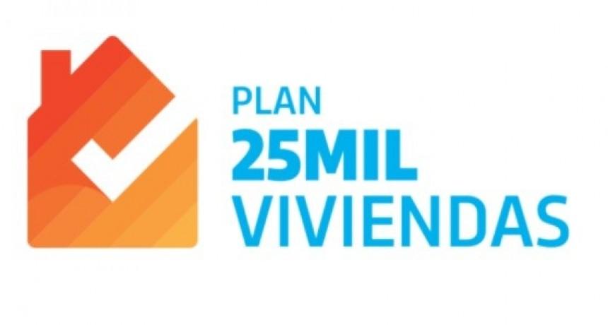 PLAN 25.000 VIVIENDAS DEL GOBIERNO PROVINCIAL