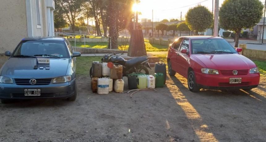 LABORDE: ALLANAMIENTOS POR ROBO DE GASOIL