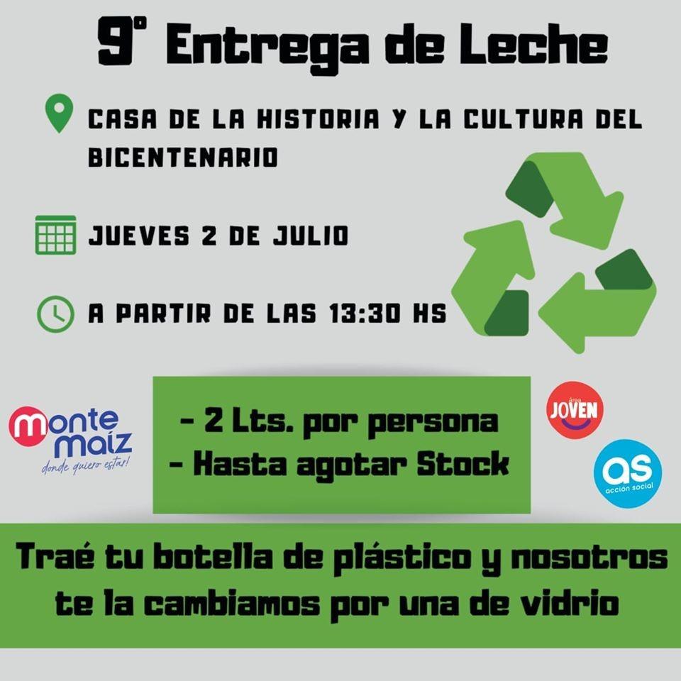 9° JORNADA DE ENTREGA DE LECHE