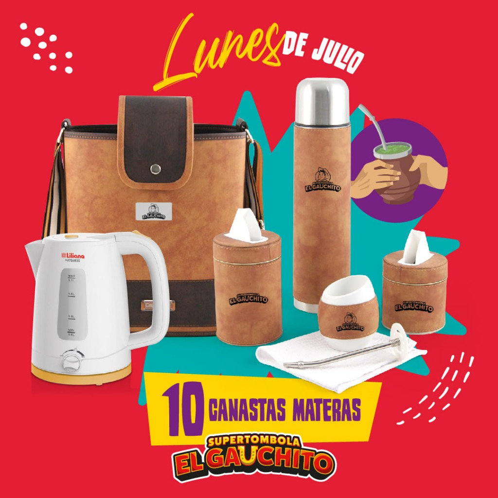 SORTEOS DE LOS LUNES DE JULIO DEL GAUCHITO