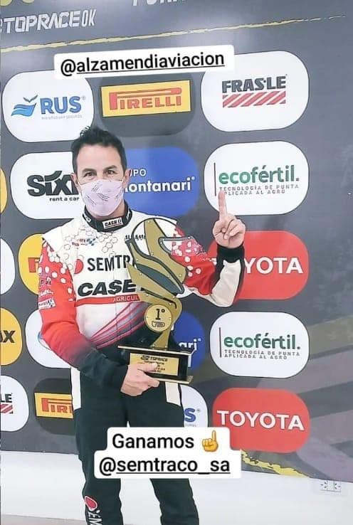 GRAN ACTUACIÓN DE ALZAMENDI EN EL TOP RACE SERIES