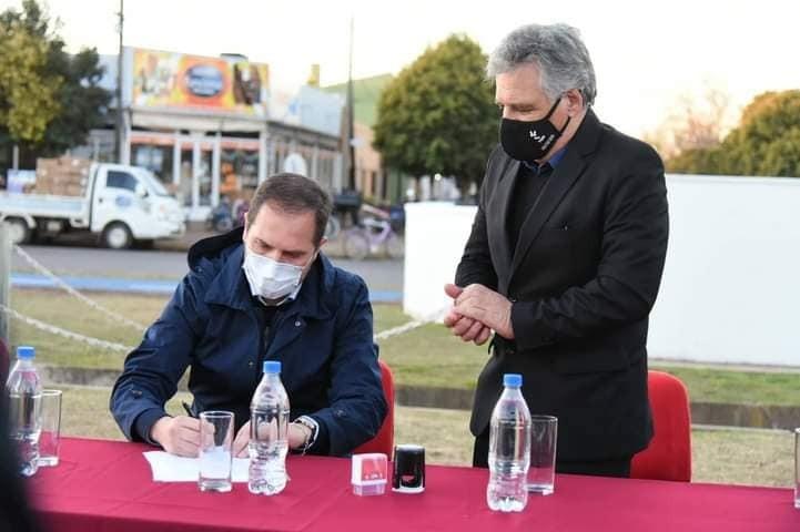 MARTÍN GILL ESTUVO EN PASCANAS