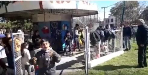 LA CALESITA DEL PARQUE VOLVIÓ A FUNCIONAR