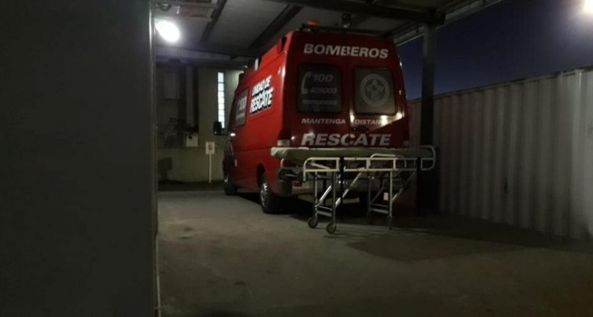 JOVEN LESIONADO DE GRAVEDAD TRAS ACCIDENTE DE MOTO