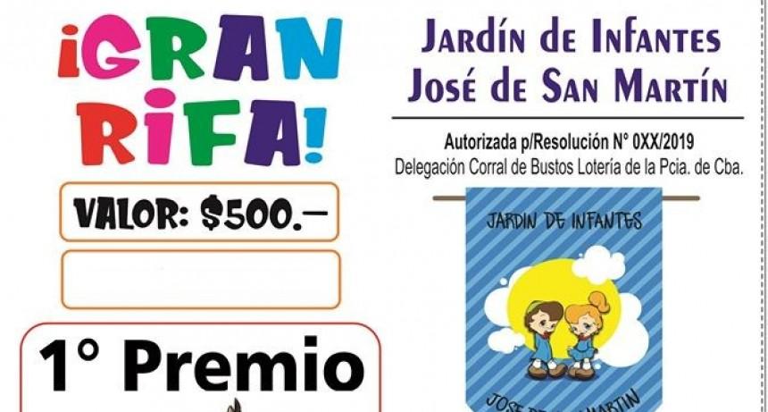 SORTEO DE LA RIFA DEL JARDÍN JOSÉ DE SAN MARTÍN