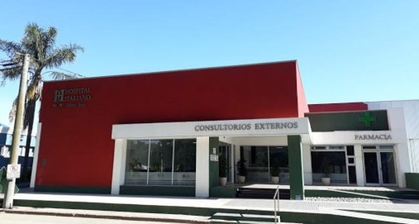 CIERRAN EL HOSPITAL ITALIANO POR CONTAGIOS