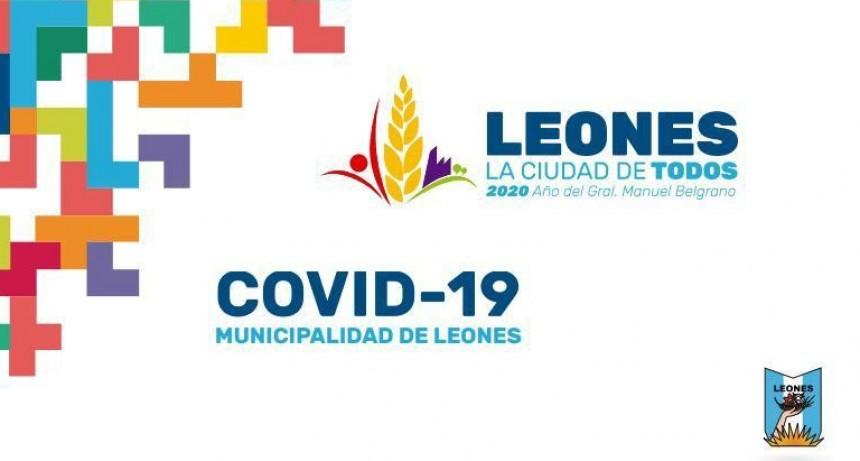 LEONES: 13 CASOS NUEVOS DE CORONAVIRUS