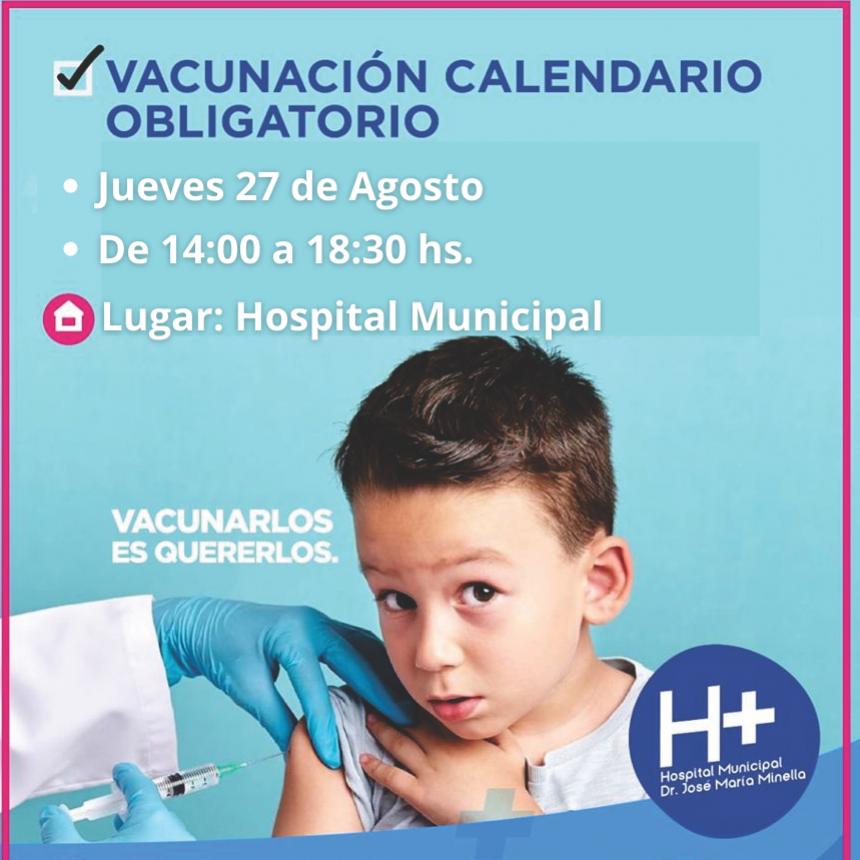 VACUNACIÓN DE NIÑOS EN EL HOSPITAL