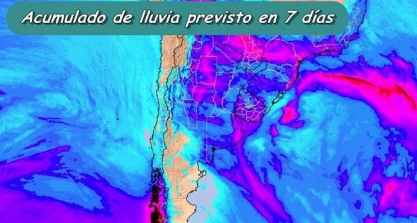 CLIMA INESTABLE PARA EL CENTRO DEL PAÍS