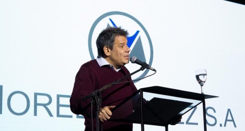FACUNDO MANES DISERTÓ EN LA CENA DE MOREL VULLIEZ