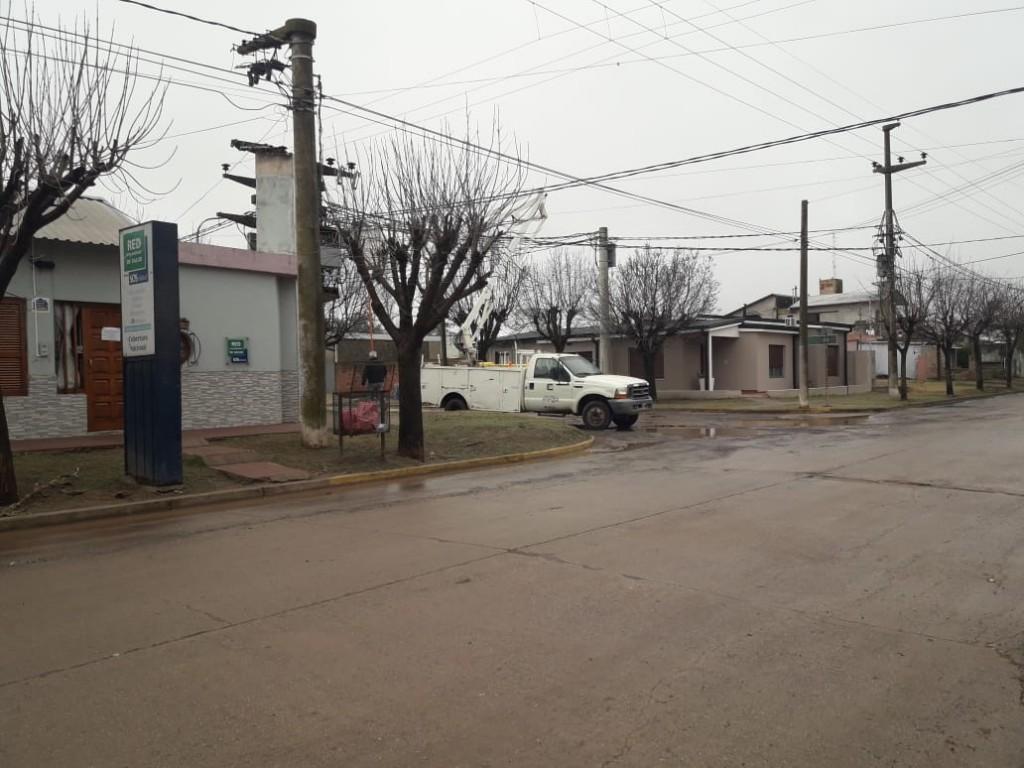 PARTE DEL CENTRO SUFRIÓ CORTE DE ENERGÍA ELÉCTRICA