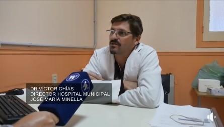 CHÍAS DESMINTIÓ QUE SU HISOPADO HAYA DADO POSITIVO