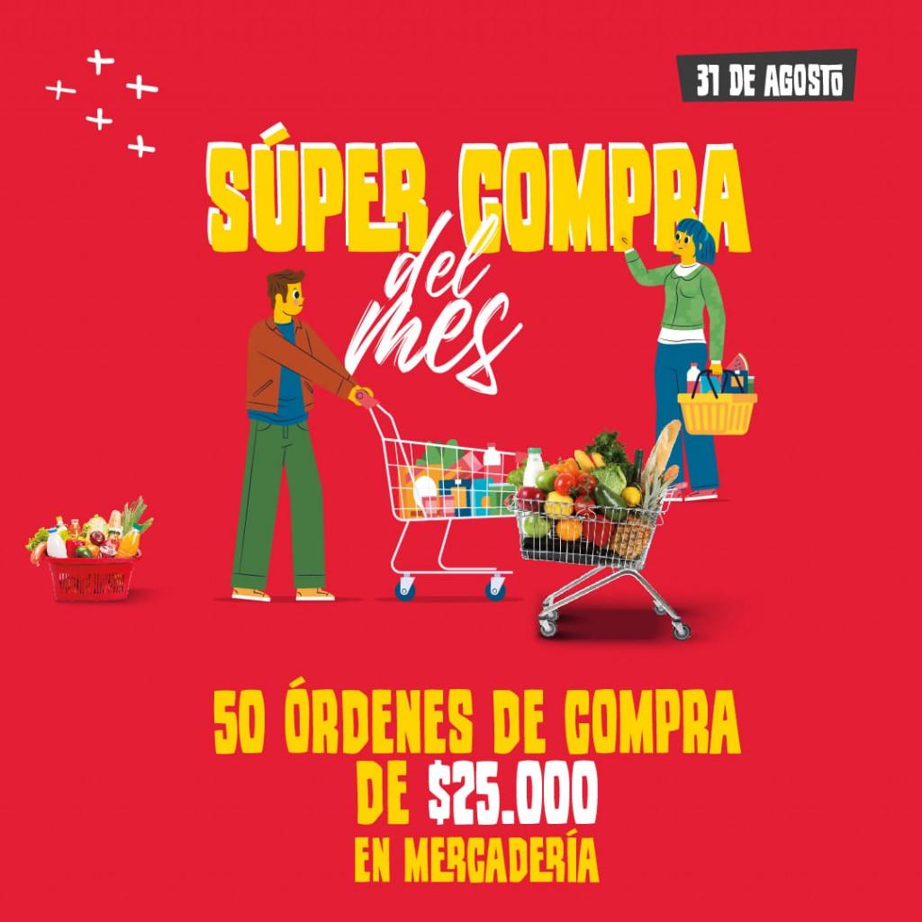 SORTEO DE LA SUPER COMPRA DEL MES