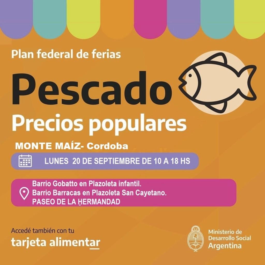 LLEGA EL PESCADO A PRECIOS POPULARES