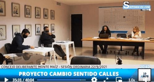 ANALIZAN CAMBIO DE SENTIDO DE ALGUNAS CALLES