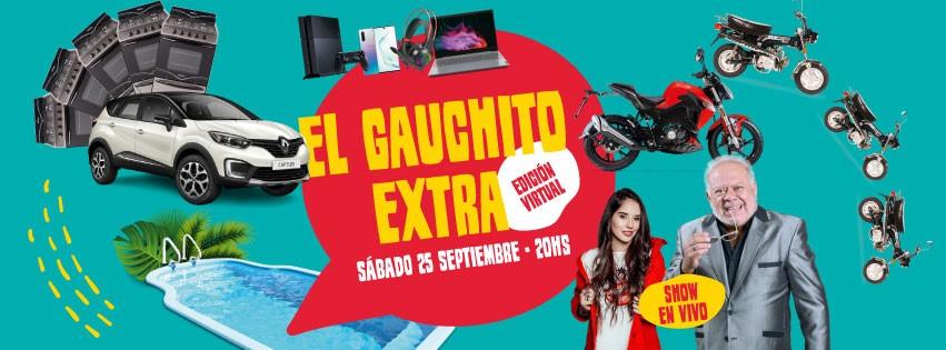 ESTA NOCHE SORTEA EL GAUCHITO EXTRA
