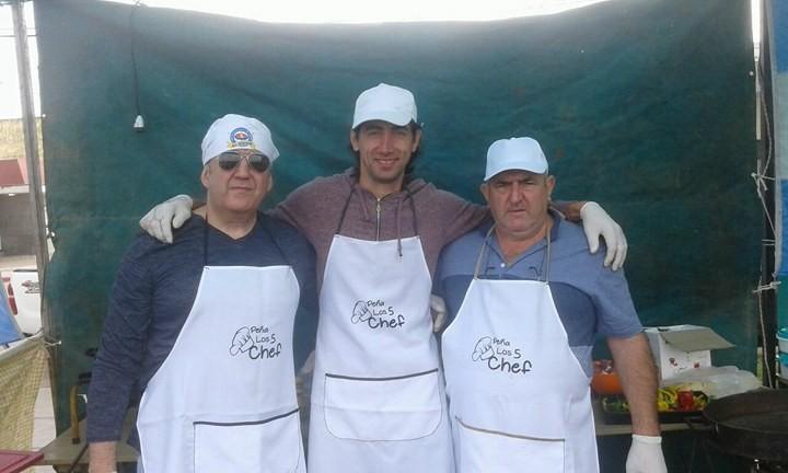 LOS CINCO CHEF EN MONTE BUEY