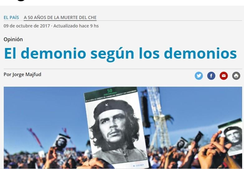A 50 AÑOS DE LA MUERTE DEL CHE