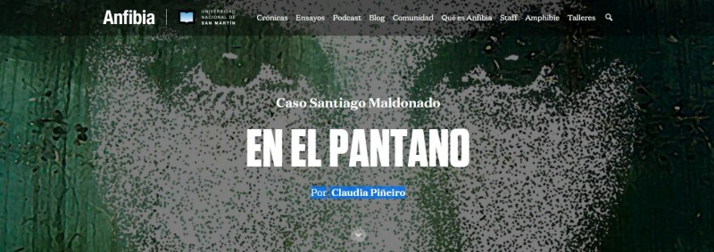 EN EL PANTANO