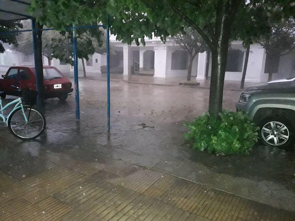 FUERTE TORMENTA EN LA TARDE DEL MIÉRCOLES